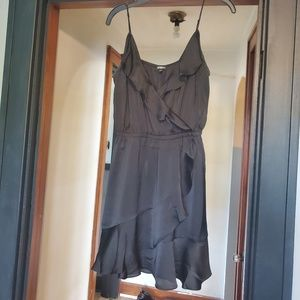 Black Silk Express Dress NWOT